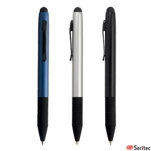 Bolígrafo personalizado en cuerpo de aluminio con touch