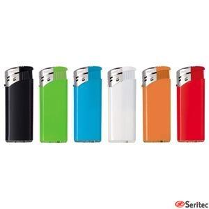 Encendedores publicitarios mini en variedad de colores