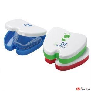 Caja para aparatos dentales publicitaria