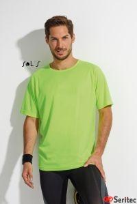 Camiseta personalizable Hombre Mangas Raglán