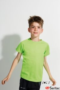 Camiseta personalizable Deporte Niño Manga Corta Raglán