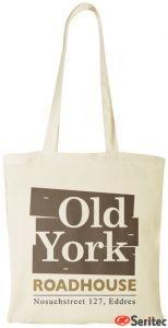 Bolsa algodón de 140 grs. personalizada