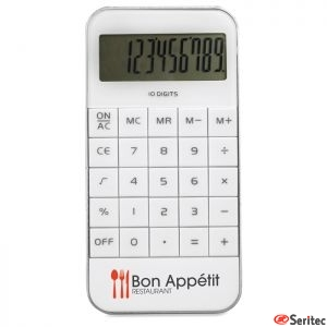 Calculadora publicitaria en ABS