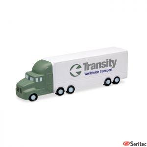 Anti estrés con forma de camión personalizable