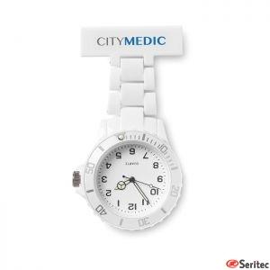 Reloj de enfermera analógico publicitario
