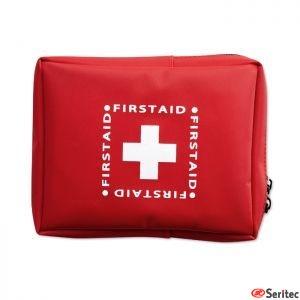 Kit de primeros auxilios publicitario