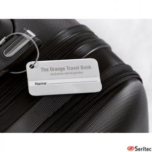 Identificador de maletas de aluminio personalizable