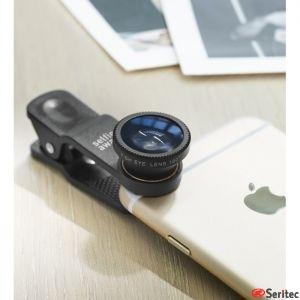 Set de lentes universal para Smartphone y tabletas personalizable