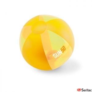 Balón de playa publicitario