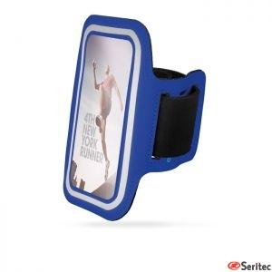 Funda brazalete publicitaria de neopreno para Iphone6+ y GalaxyS6