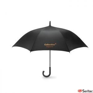 Paraguas publicitario de apertura automática antiviento 23