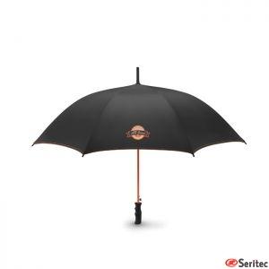 Paraguas antiviento publicitario de apertura automática 23