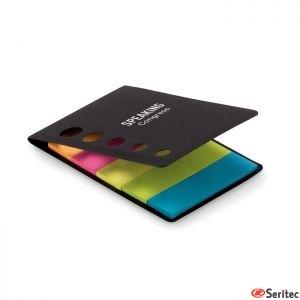Notas adhesivas 5 colores publicitarias