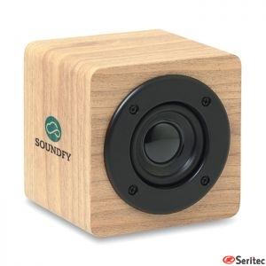 Altavoz Bluetooth 3W 350 mAh publicitario con amplificador