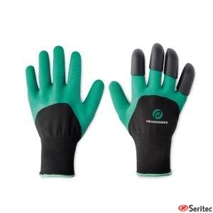 Set publicitario de guantes de jardinería