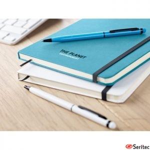 Set de libreta A5 y bolígrafo a juego personalizable