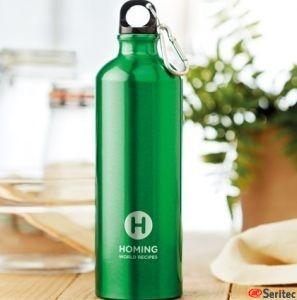 Botella de aluminio 750 ml publicitaria