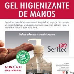 Gel higienizante hidroalcohol
