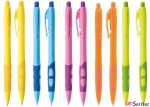 Bolígrafo línea económica colores llamativos