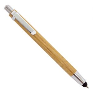 Bolígrafo de madera bambú con touch