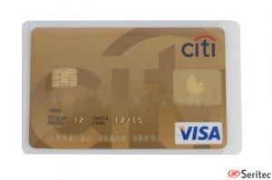 Funda para una tarjeta simple