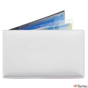 Tarjetero publicitario para 6 tarjetas