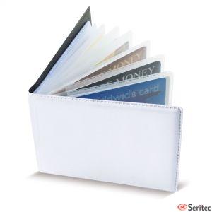 Tarjetero horizontal para 40 tarjetas