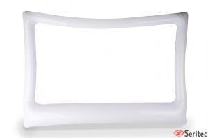 Flotador con forma de marco personalizado