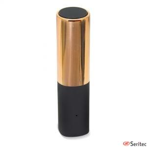 Batería externa con forma barra de labios publicitaria