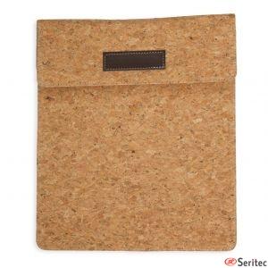 Funda tablet de corcho personalizada