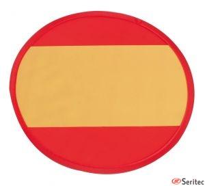 Frisbee plegable bandera españa publicitario