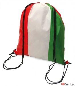 Mochilas promocionales bandera Italia