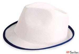 Sombreros blancos personalizados