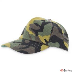Gorras de camuflaje promocionales
