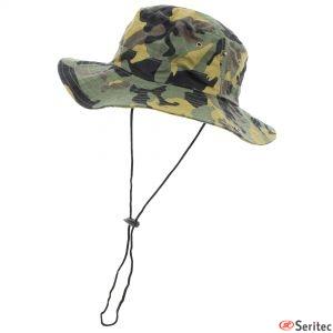 Sombrero camuflaje personalizado