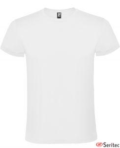 Camisetas para niño de algodón blanco publicitarias