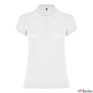 Polos para mujer de algodón blanco para personalizar
