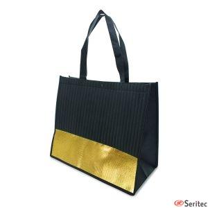 Bolsas lafayette negro/oro promocionales