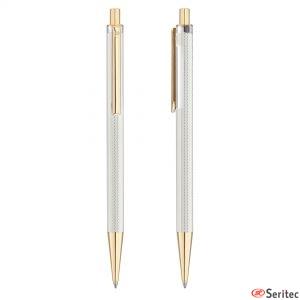 Bolígrafos de plata de Pierre Cardin personalizados