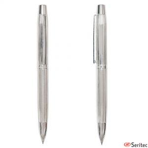 Bolígrafos de plata de Pierre Delone publicitarios