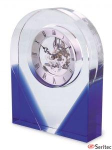 Relojes de cristal personalizados