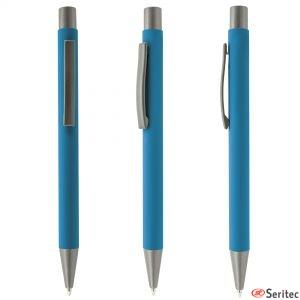 Bolígrafos publicitarios de metal
