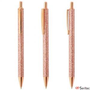 Bolígrafos con pedrería personalizados