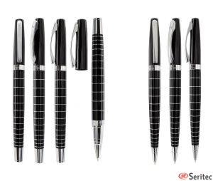 Set bolígrafo y roller de Pierre Cardin publicitario