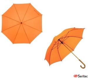 Paraguas de colores publicitarios