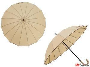 Paraguas publicitarios combinados