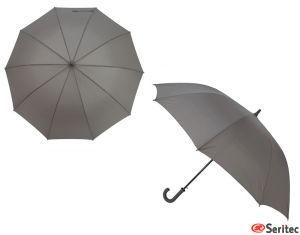 Paraguas automático publicitario tamaño grande