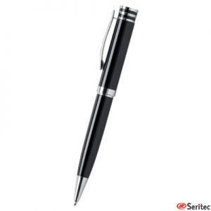 Bolígrafo promocional con cuerpo de aluminio