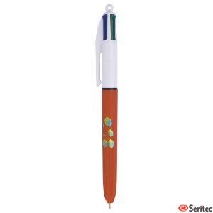 Bolígrafo Bic 4 colours Fine personalizable