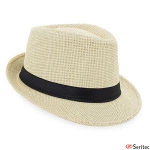 Sombreros de fibra natural personalizados